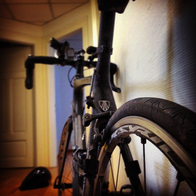 Das letzte Foto von meinem geklauten Fahrrad :-(