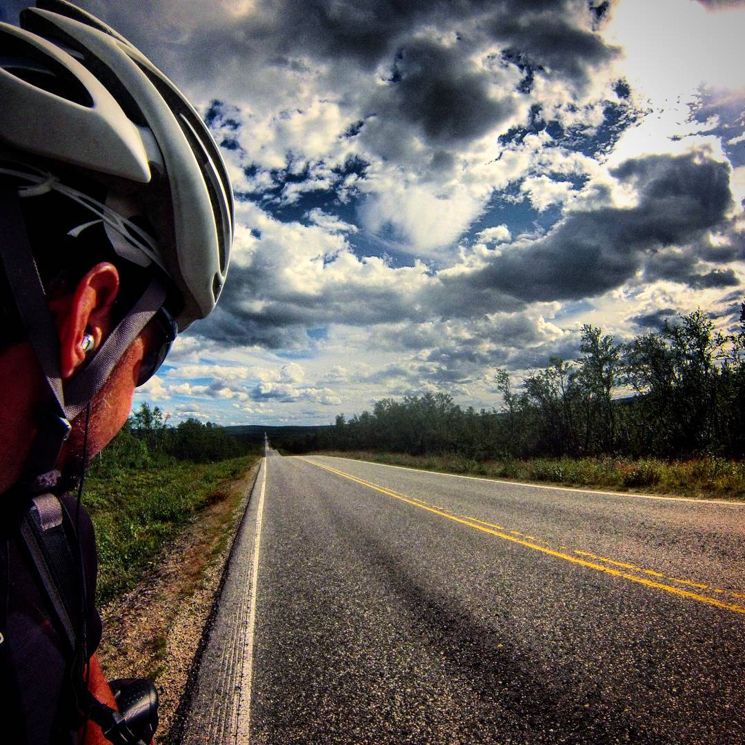 Cycling means pure pleasure. Nothing comes close to this feeling of riding through the endless nature