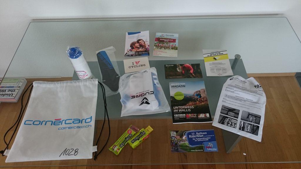 Tour de Suisse Challenge - Starterbeutel